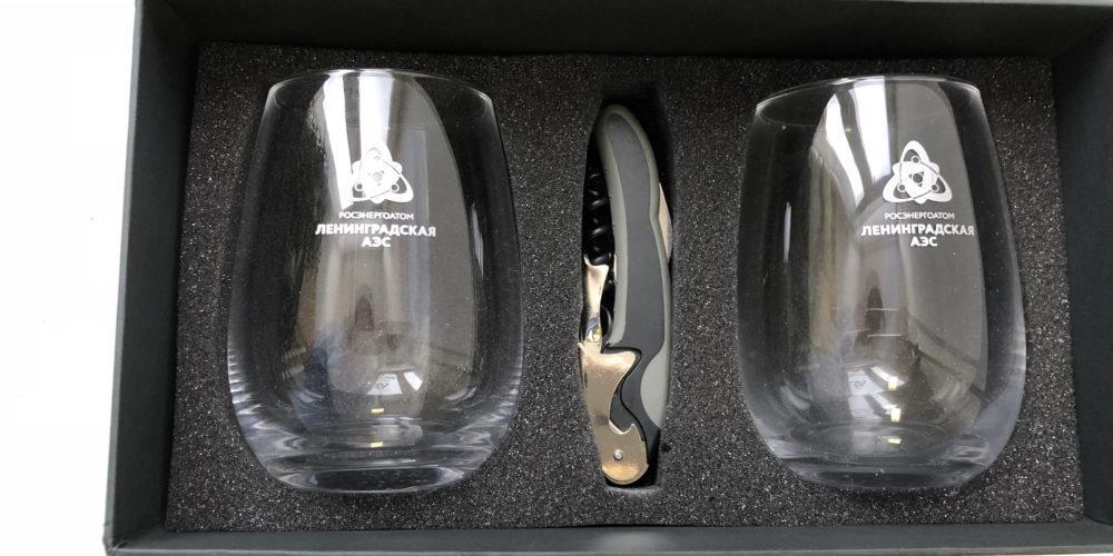 Нанесение логотипа на стекло