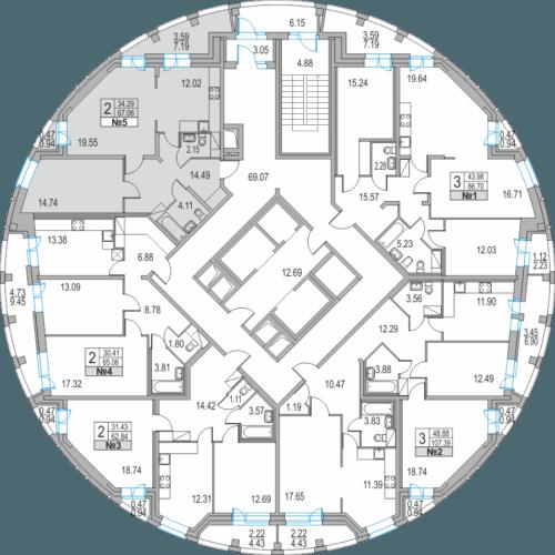 Оцифровка этажа