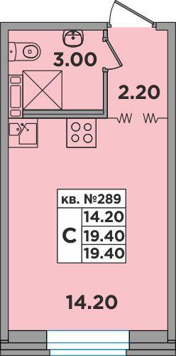 2D план квартиры