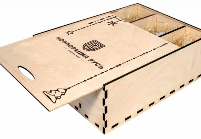 Разработка деревянной шкатулки