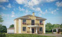 Визуализация жилой дом