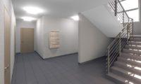 Визуализация холл дома