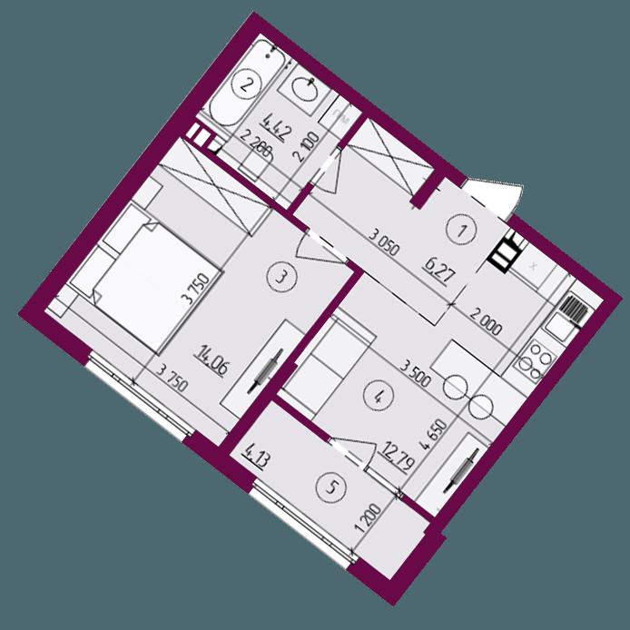 2Д план квартиры