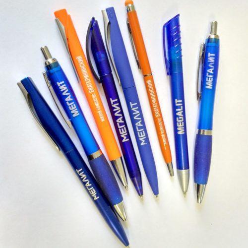 Ручки с УФ печатью